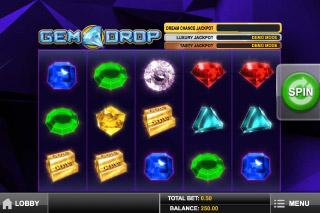 Gem Drop Slot Screenshot