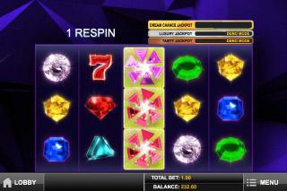 Gem Drop Slot Wilds