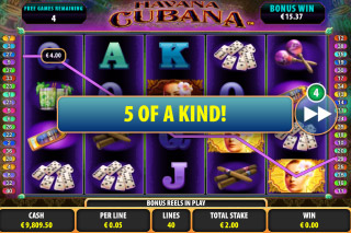 Havana Cubana Free Spins Win
