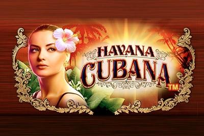 Havana Cubana Mobile Slot Logo