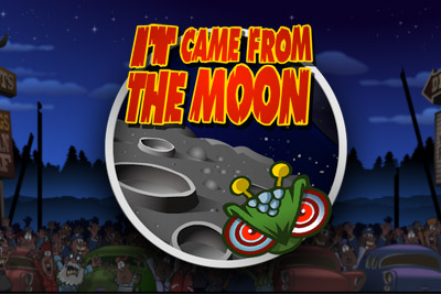 It Came From The Moon Slot Logo