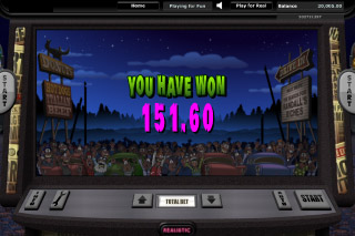 It Came From The Moon Slot Win
