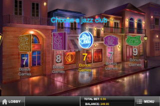 Jazz of New Orleans Slot Free Spins