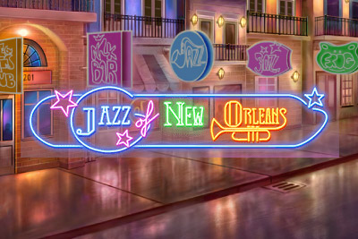 Jazz of New Orleans Slot Logo