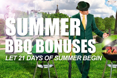 21 Days of Mr Green Casino Bonuses for Summer 2014