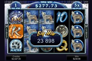 Silver Fang Mobile Slot Big Win