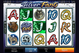 Silver Fang Mobile Slot Screenshot