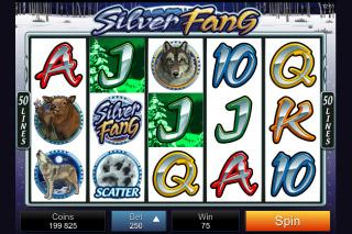 Silver Fang Mobile Slot Screenshot