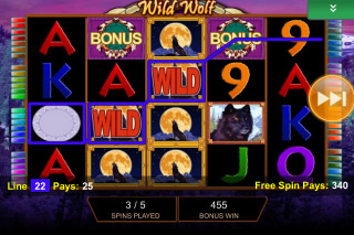 Wild Wolf Mobile Slot Free Spins Games