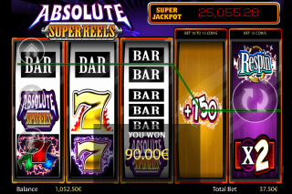 Absolute Super Reels Slot Win