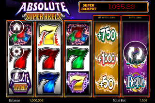Absolute Super Reels Mobile Slot Screenshot