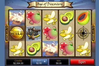 Age of Discovery Mobile Slot Wilds