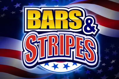 Bars & Stripes Slot Logo