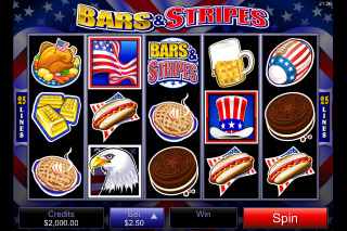 Bars & Stripes Slot Screenshot