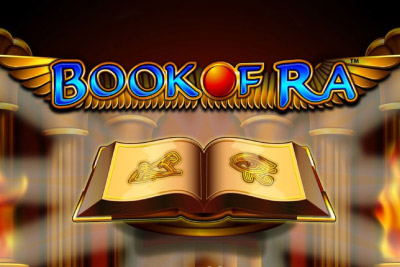 Book of Ra Mobile Slot Logo