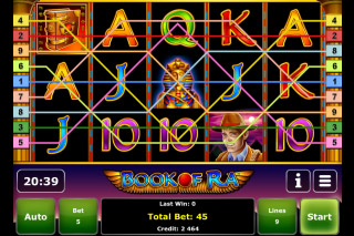 Book of Ra Mobile Slot Screenshot