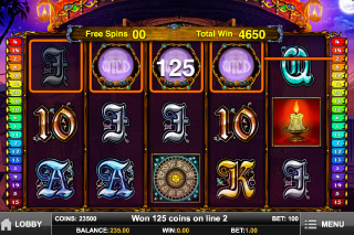 Fortune Teller Mobile Slot Free Spins Win
