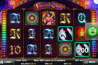Fortune Teller Slot Screenshot