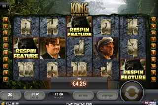 Kong Mobile Slot Jungle Screenshot