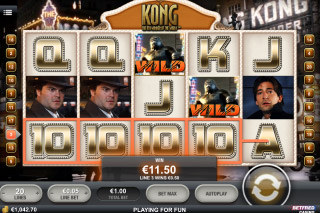 Kong Mobile Slot City Screenshot