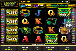 Mayan Treasures Mobile Slot Wilds
