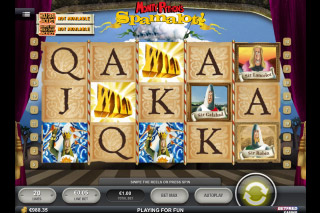 Monty Pythons Spamalot Slot Screenshot