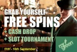 Grab Yourself Some Free Spins & Play in Slot Tournament this September
