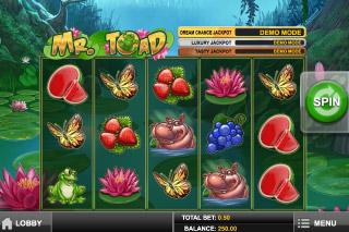 Mr Toad Mobile Slot Screenshot