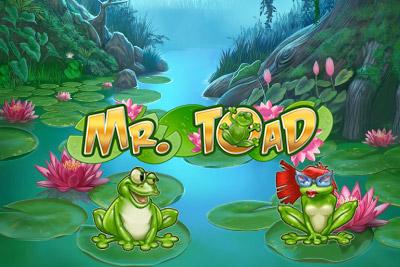 Mr Toad Mobile Slot Logo