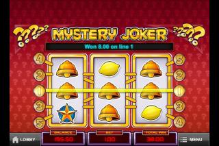 Mystery Joker Mobile Slot Free Spins