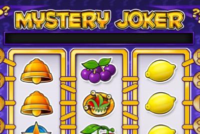 Mystery Joker Mobile Slot Logo