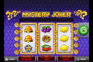 Mystery Joker Mobile Slot Screenshot