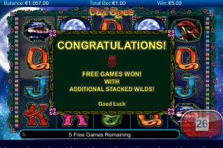Owl Eyes Free Spins Games