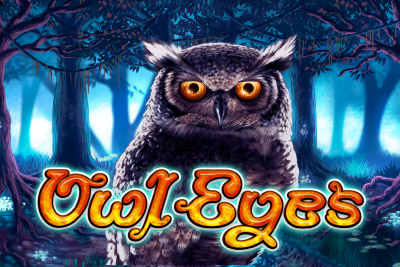 Owl Eyes Mobile Slot Logo