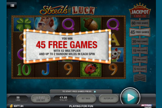 Streak of Luck Slot Free Spins