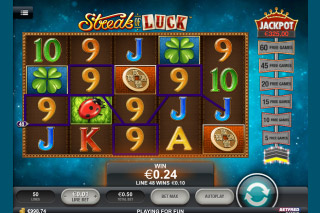 Streak of Luck Mobile Slot Screenshot