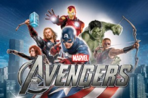 The Avengers Slot Logo