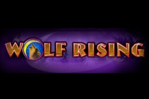 Wolf Rising Mobile Slot Logo