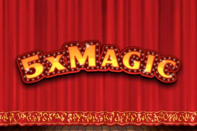 5x Magic Slot Logo
