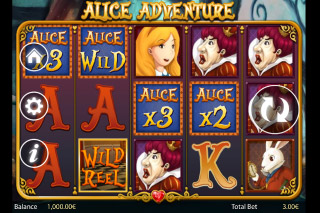 Alice Adventure Mobile Slot Screenshot