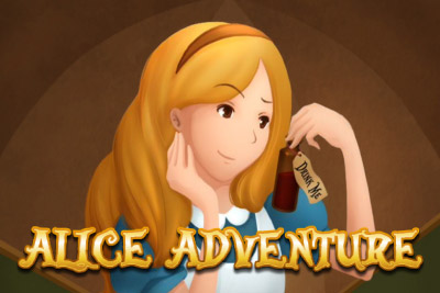 Alice Adventure Mobile Slot Logo