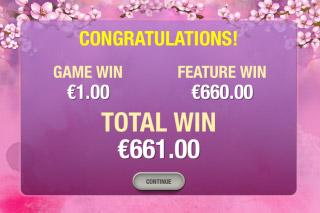 Geisha Story Mobile Slot Big Win