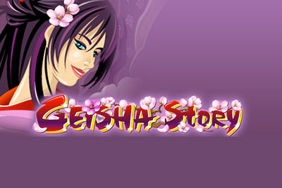 Geisha Story Mobile Slot Logo