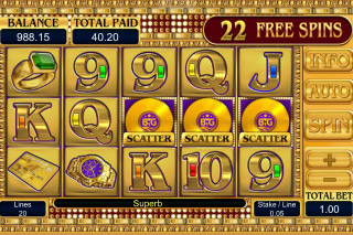 Gold Mobile Slot Free Spins