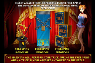 Illusions 2 Mobile Slot Free Spins