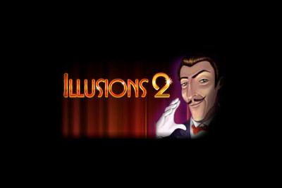 Illusions 2 Mobile Slot Logo