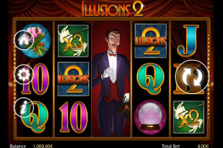 Illusions 2 Mobile Slot Screenshot