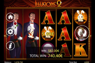 Illusions 2 Mobile Slot Big Win