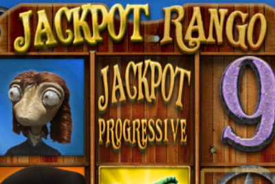 Jackpot Rango Mobile Slot Logo