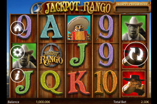 Jackpot Rango Mobile Slot Screenshot